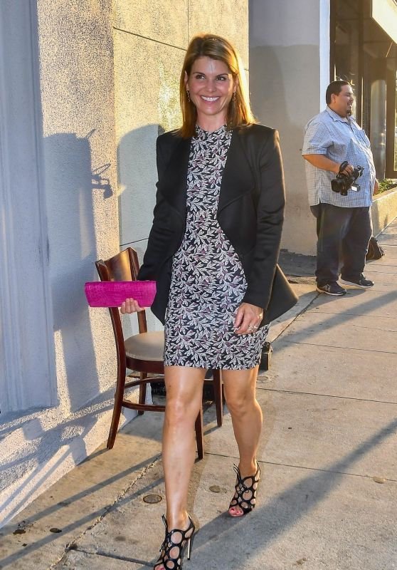Lori Loughlin - Celebrates Her Birthday at Craigs in West Hollywood