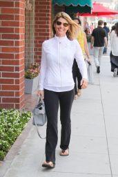 Lori Loughlin Street Style - Los Angeles 07/16/2018