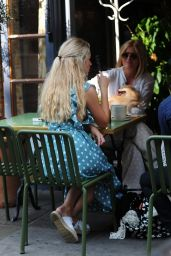 Lottie Moss With George Lineker in Chelsea 07/24/2018