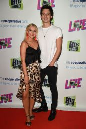Lucy Fallon - Hits Radio Live at Manchester Arena 07/14/2018