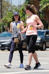 Lucy Hale - Leaves the Gym in Studio City 07/20/2018