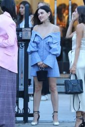 Lucy Hale - Leaving the Jonathan Simkhai Event in LA 07/25/2018