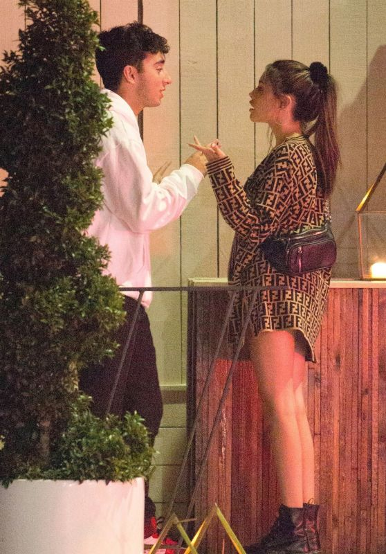 Madison Beer in a Heated Argument With Boyfriend Zack Bia in LA 07/10/2018