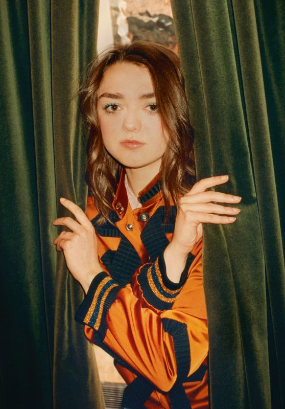 Maisie Williams - Photoshoot for The Telegraph, July 2018