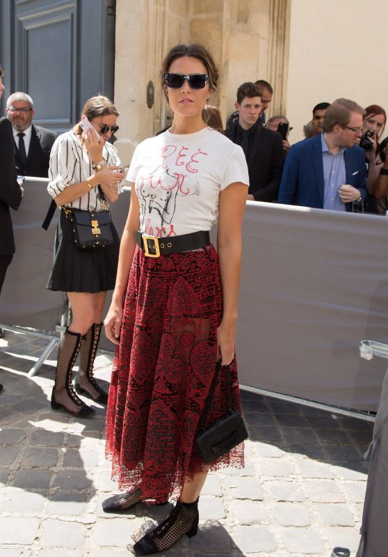 Mandy Moore -  Christian Dior Couture Haute Couture Fall/Winter 2018-2019 Show in Paris