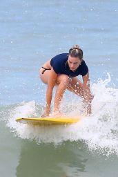 Margot Robbie in Bikini on the Beach in Costa Rica 07/20/2018