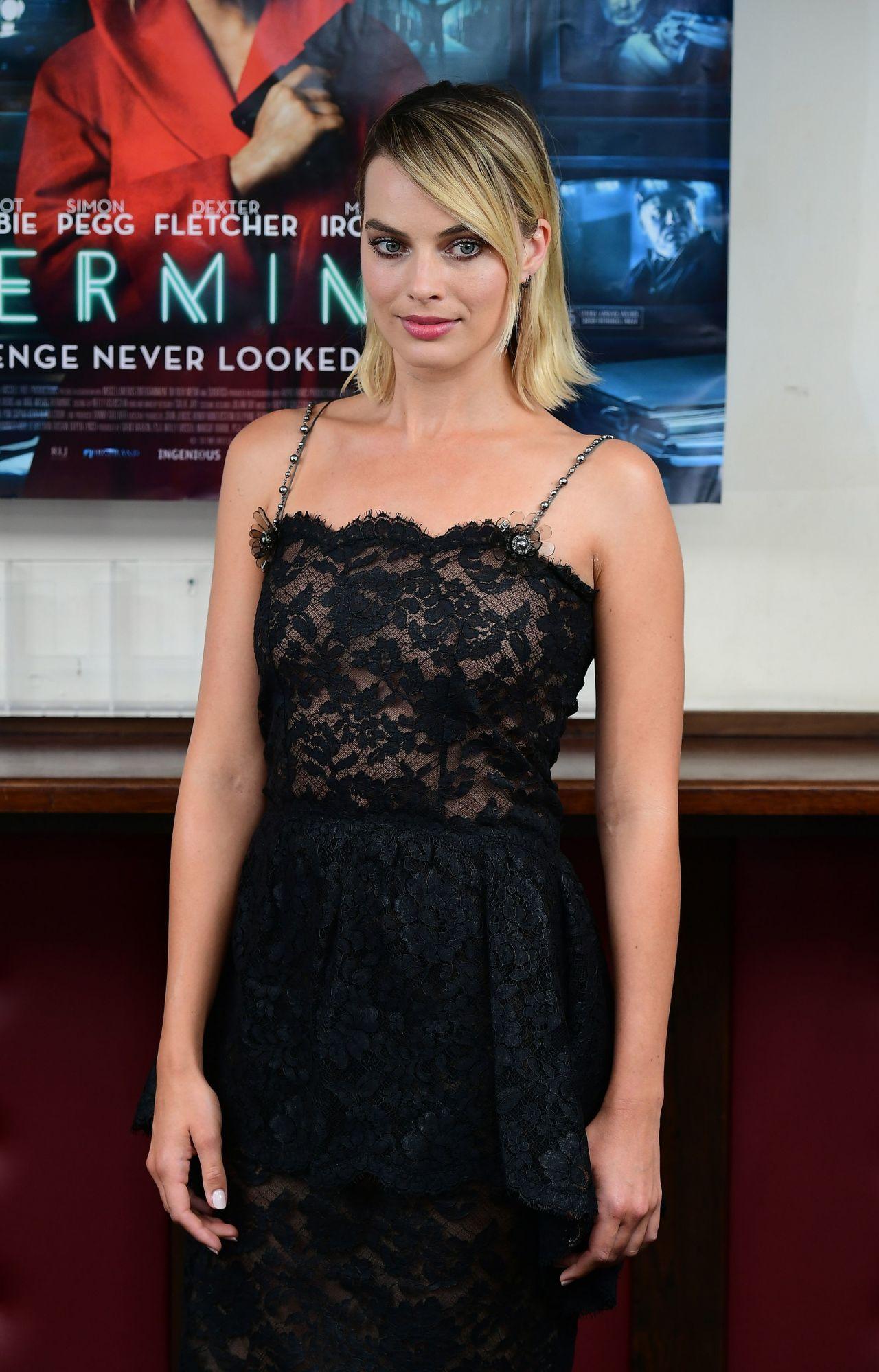 Margot Robbie Quot Terminal Quot Special Screening In London