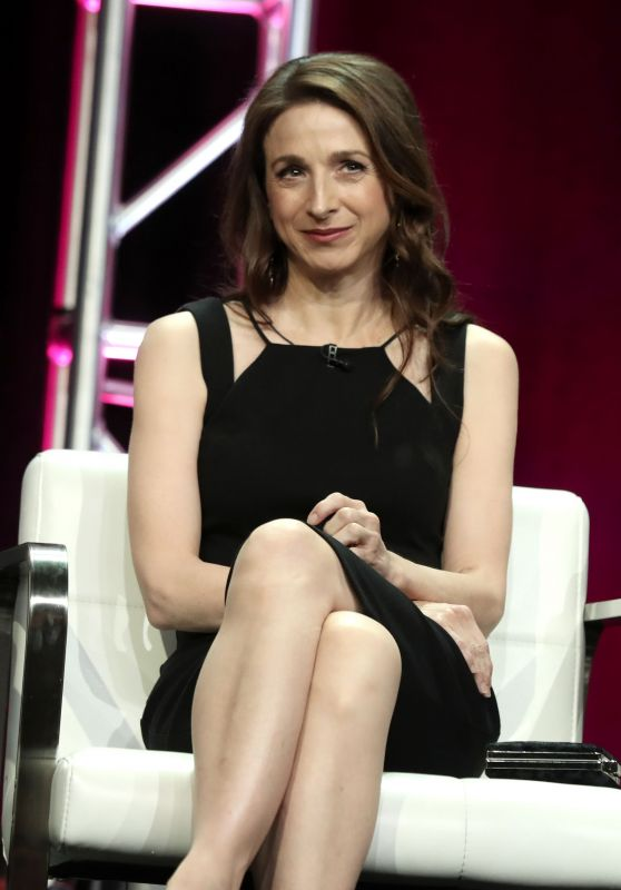 """Marin Hinkle - """"The Marvelous Mrs. Maisel"""" TV Show Panel at 2018 TCA Summer Press Tour in LA"""