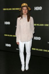 """Megan Boone - """"Robin Williams: Come Inside My Mind"""" Premiere in NY"""