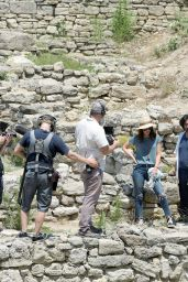 Megan Fox Visits Troy Ancient City - Mysteries and Myths with Megan Fox Documentary Series in Canakkale