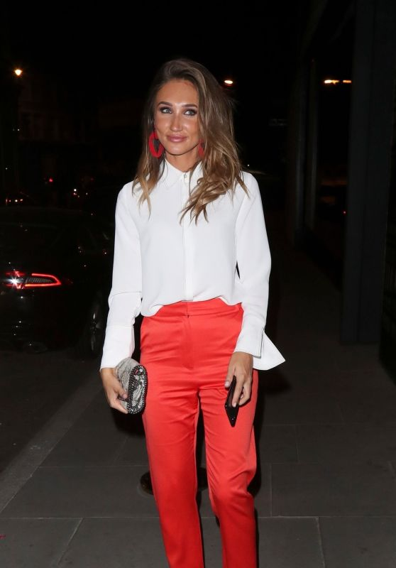 Megan McKenna Night Out Style – ITV Summer Party in London