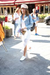 Megan McKenna Promotes Her Book in London 07/25/2018
