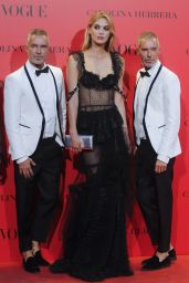 Megan Williams – VOGUE Spain 30th Anniversary Party in Madrid