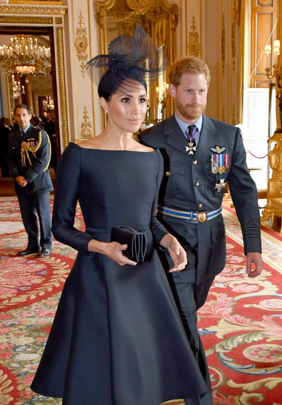 Meghan Markle - 100th Anniversary Service RAF in Westminster Abbey