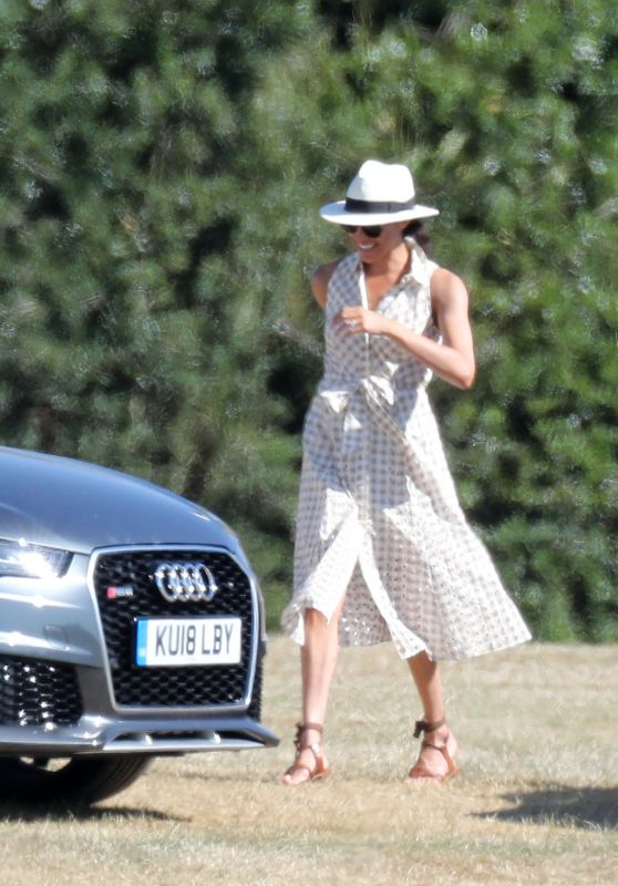 Meghan Markle - Audi Polo Challenge in Ascot 06/30/2018