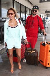 Melanie Brown at LAX Airport 07/19/2018