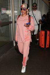 Melanie Brown at LAX in LA 07/25/2018