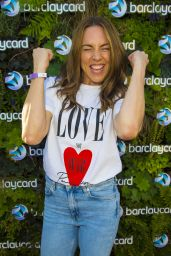 Melanie Chisholm - Barclaycard VIP Experience Watching The World Cup 2018 Semi Final in London