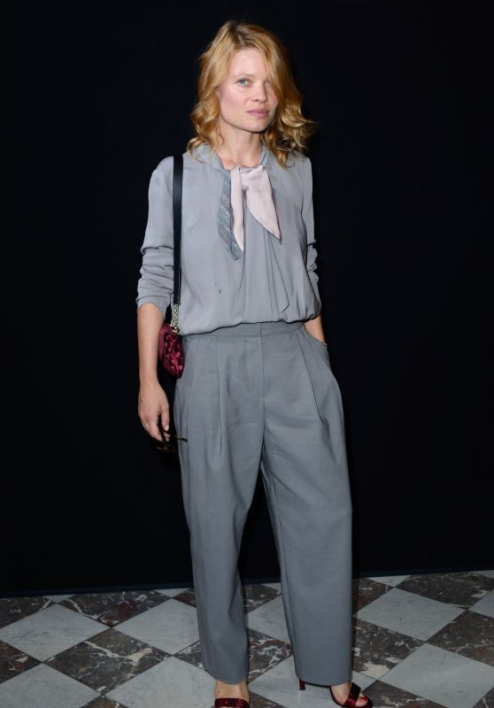 Melanie Thierry – Giorgio Armani Prive Fashion Show in Paris 07/03/2018