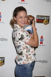 Melissa Benoist - Broadway Barks Animal Adoption Event in New York 07/14/2018
