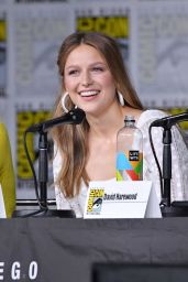 "Melissa Benoist – ""Supergirl"" Panel at SDCC 2018"