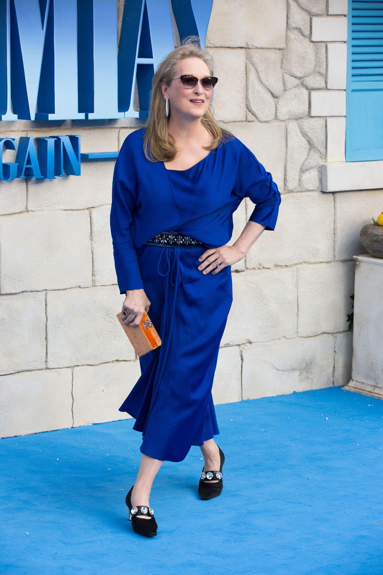 Meryl Streep Mamma Mia Here We Go Again Premiere In