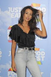 Michelle Keegan – Just Eat Food Fest in London 07/19/2018