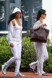 Michelle Rodriguez Style - Leaving Her Hotel in Miami 07/16/2018