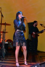 Michelle Sussett Performs at Ball and Chain Bar Lounge in Miami