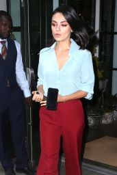 """Mila Kunis Arriving to Appear on """"Today"""" Show in NYC 07/31/2018"""
