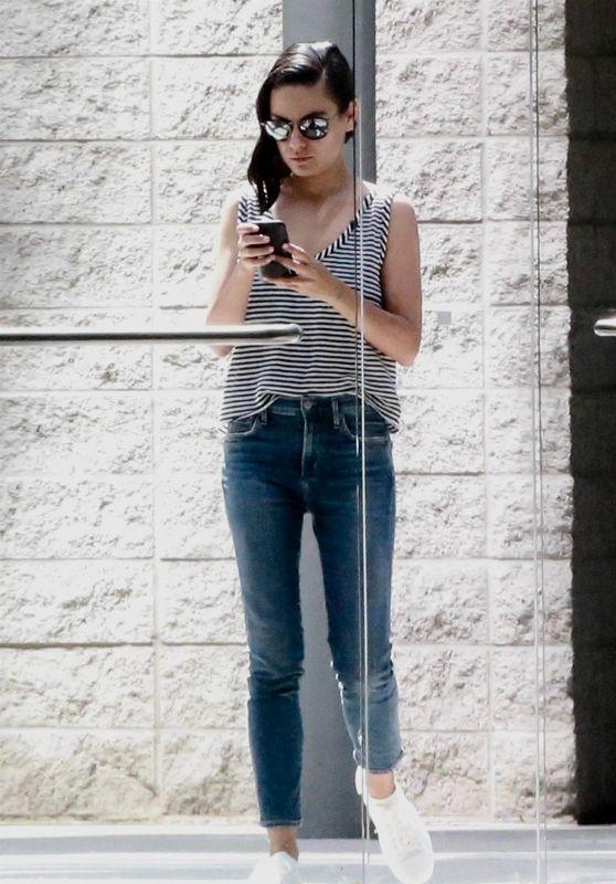 Mila Kunis in Century City 07/26/2018