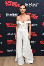 "Mila Kunis - ""The Spy Who Dumped Me"" Screening in New York"
