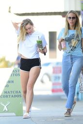 Miley Cyrus and Her Mom Tish Cyrus Out in Los Angeles 07/27/2018