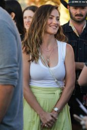 Minka Kelly - Arrives to the Forum for Harry Styles' Concert in Inglewood 07/14/2018