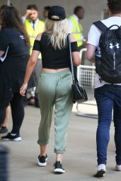 Mollie King at BBC Radio One Studios in London 07/13/2018