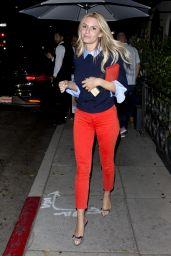 Morgan Stewart Style - Leaving Dinner in Beverly Hills 07/22/2018