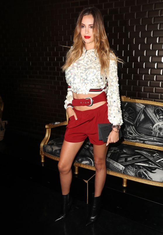 Nabilla Benattia – Jean-Paul Gaultier Fashion Show in Paris 07/04/2018