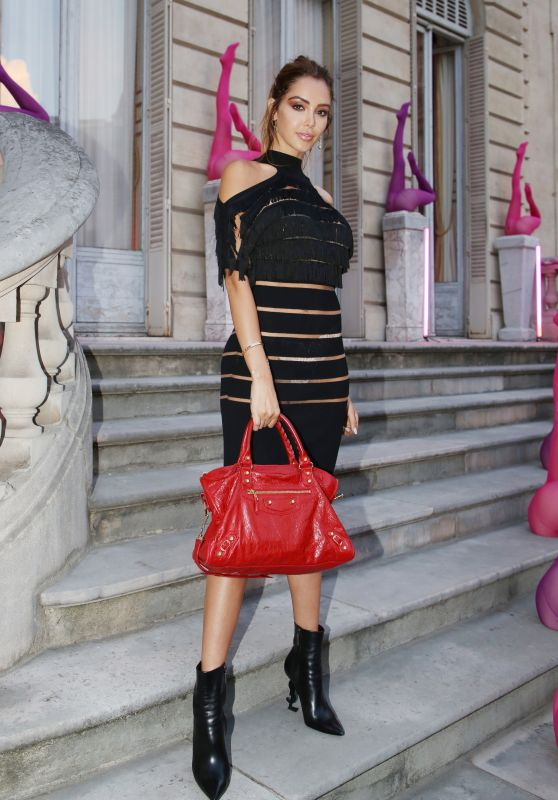 Nabilla Benattia - Jean-Paul Gaultier Scandal Discotheque Party in Paris 07/04/2018
