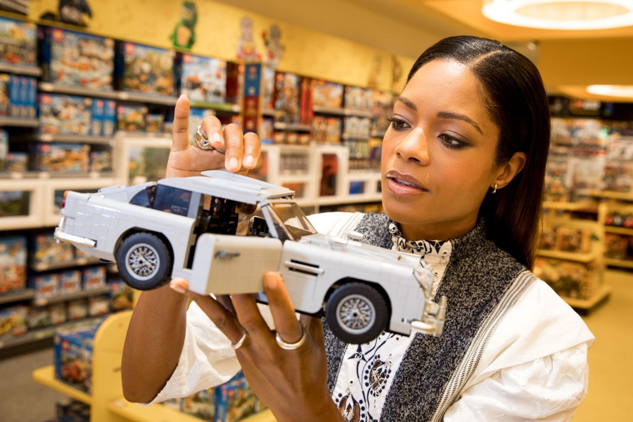 naomie harris launches the new lego creator expert james. Black Bedroom Furniture Sets. Home Design Ideas