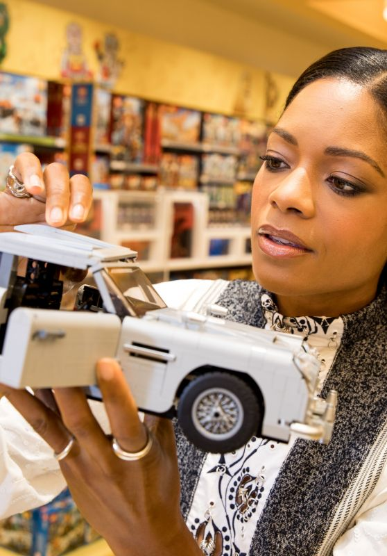 Naomie Harris - Launches the New LEGO Creator Expert James Bond Aston Martin DB5 in London