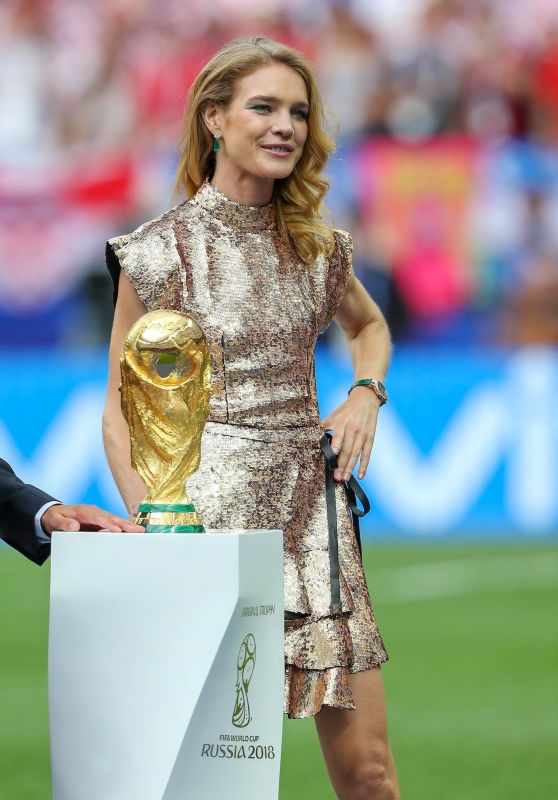 Natalia Vodianova - World Cup Final in Moscow 07/15/2018