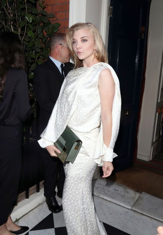 Natalie Dormer - Delvaux x Vogue Cocktails and Dinner in London