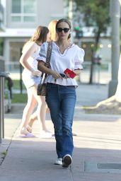 Natalie Portman at Cafe Gratitude in LA 07/28/2018