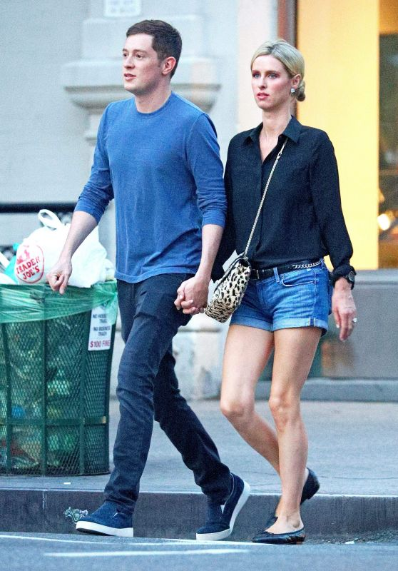 Nicky Hilton and James Rothschild - Out in Soho in NYC