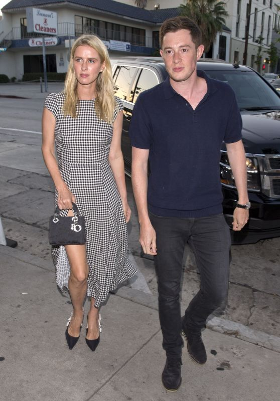 "Nicky Hilton at ""Craigs"" Restaurant in West Hollywood 07/30/2018"