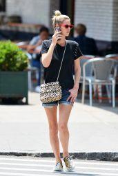 Nicky Hilton Leggy in Shorts - NYC 07/15/2018