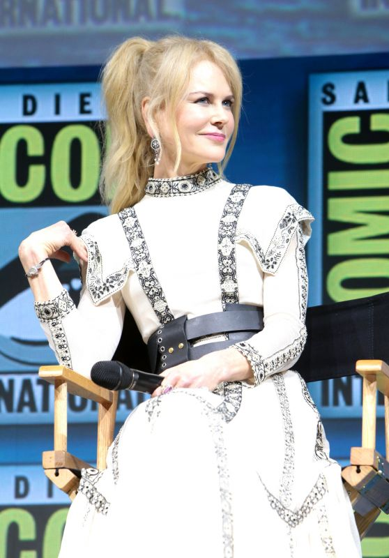 "Nicole Kidman - ""Aquaman"" Panel at SDCC 2018"