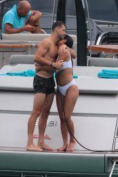 Nicole Scherzinger and Grigor Dimitrov in Saint Tropez 07/22/2018