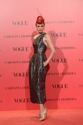 Nieves Álvarez – VOGUE Spain 30th Anniversary Party in Madrid