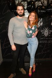 Nikki Sanderson at the IL Sarto Mens Wear Clothing Launch in Manchester